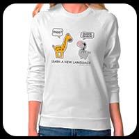 Fun animals ladies' T-shirt