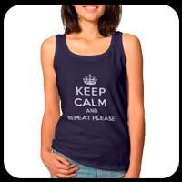 Women's Keep Calm tank top