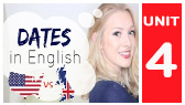 Dates & Years in British & American English (English with Lucy)