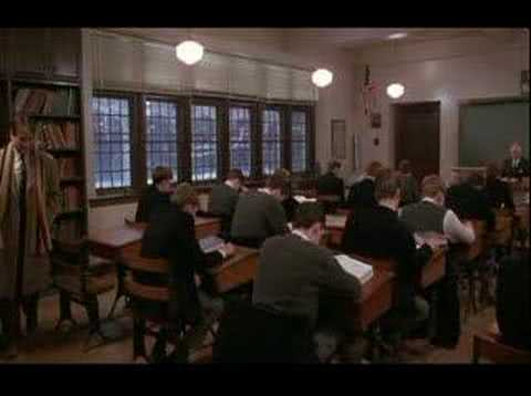 dead poets society keatings unconventional teaching methods Dead poets society is a  they are surprised by the unorthodox teaching methods of  keating is fired and nolan takes over teaching the class keating interrupts .