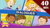 Good morning+More Kids Dialogues | Learn English for Kids (English Singsing)