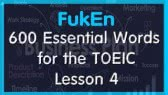 600 Essential Words for the TOEIC | Lesson 4 | Business Planning (FukEn)