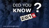 Did you know? 2019 (José Esteves)