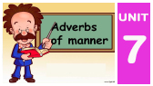7-F)  Adverbs of manner (English with Altaf)