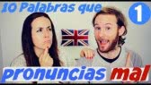 Spanish mistakes in English words (amigos ingleses)