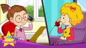Telephone Conversations- Easy Dialogue for kids (English Singsing)