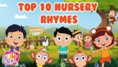 Twinkle, Twinkle, Little Star and other Top 10 Nursery Rhymes & Kids Songs (Bumcheek TV)