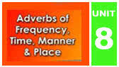 Adverbs of Frequency, Time, Manner & Place (EnglishAnyone)