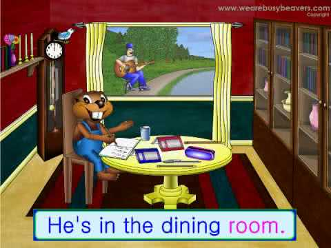 The house song busy beavers multimedia english videos for The house music
