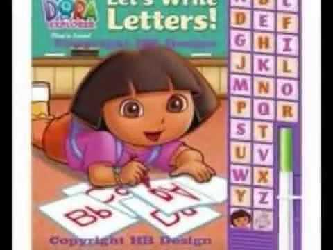 The alphabet song (Dora the Explorer) –[Multimedia-English