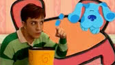 Blue's Clues: What does Blue want to make out of recyled things?