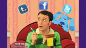 Blue's Clues: What did Blue see?
