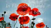 In Flanders Fields -poem (John McCrae)