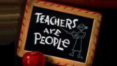 Teachers are people (Goofy)