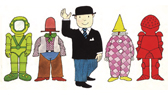 The Spaceman (Mr Benn)
