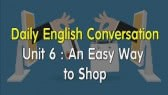 Daily English Conversation - Unit 6: An Easy Way (Fuken)