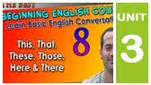 This, That, These, Those, Here & There (EnglishAnyone)