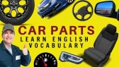 Car Parts English Vocabulary (American & British) (LearningEnglishPRO)