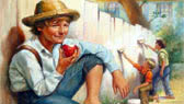The Adventures of Tom Sawyer - abridged (Mark Twain)