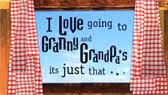 I Love Going to Granny and Grandpa's It's Just That... (Charlie and Lola)