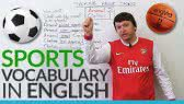 English Vocabulary: Talking about SPORTS! (English Lessons with Alex)