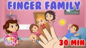 The Finger Family Song | 30 Min Non-Stop |Nursery Rhymes & Kids Songs (Bumcheek TV)