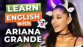 Learn English With Ariana Grande | Funny English Lesson (Learn English with TV series)