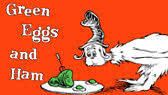 Green Eggs and Ham (book in 50 words) (Dr Seuss)