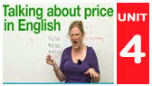 How to talk about prices in English (EnglishLessons4U)
