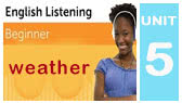 Listening to an English Weather Forecast (EnglishClass101)