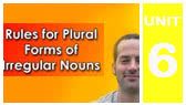 Rules for Plural Forms (EnglishAnyone)