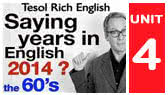 The year date in English and decades (Tesol Rich English)