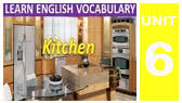 Things you can find in the kitchen (American version) (EnglishForAll)