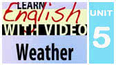 Weather Expressions (EnglishClass101)