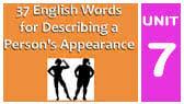 Words for Describing a Person's Appearance (Espresso English)