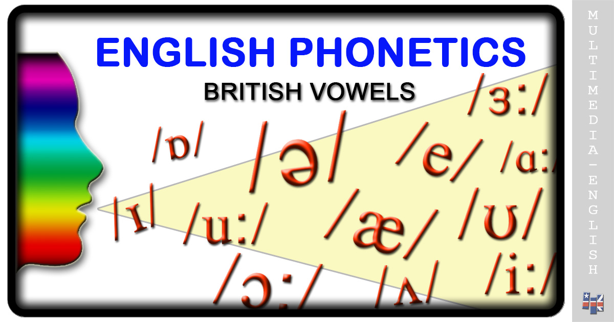 Phonetics British Vowels Multimedia English
